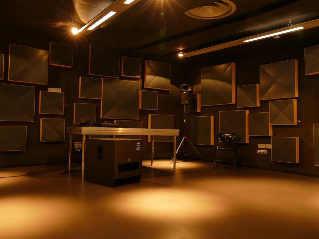 Studio Lille : DJ booth
