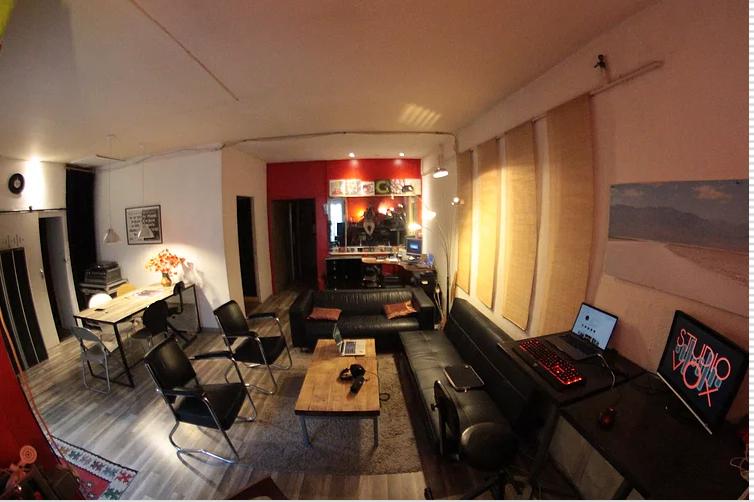 Studio Vox Montpellier : accueil du studio d'enregistement musical