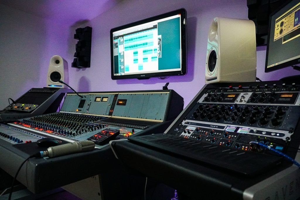 Hesat Recordings : studio d'enregistrement à proximité de Bordeaux